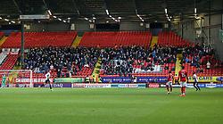 Peterborough United supporters at Charlton Athletic - Mandatory by-line: Joe Dent/JMP - 28/11/2017 - FOOTBALL - The Valley - Charlton, London, England - Charlton Athletic v Peterborough United - Sky Bet League One