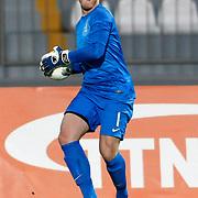 Netherlands U21's goalkeeper Hobie Verhulst during their friendly soccer match Turkey U21 betwen Netherlands U21 at Recep Tayyip Erdogan stadium in Istanbul September 08, 2012. Photo by TURKPIX