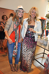 Left to right, KIM HERSOV and DIANE KORDAS at a ladies lunch in aid of Mothers4Children hosted by Carmelbabyandchild at 259 Pavillion Road, London SW1 on 30th June 2011.