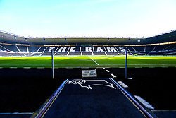 A general view of the Pride Park Stadium, home to Derby County - Mandatory by-line: Ryan Crockett/JMP - 30/03/2019 - FOOTBALL - Pride Park Stadium - Derby, England - Derby County v Rotherham United - Sky Bet Championship