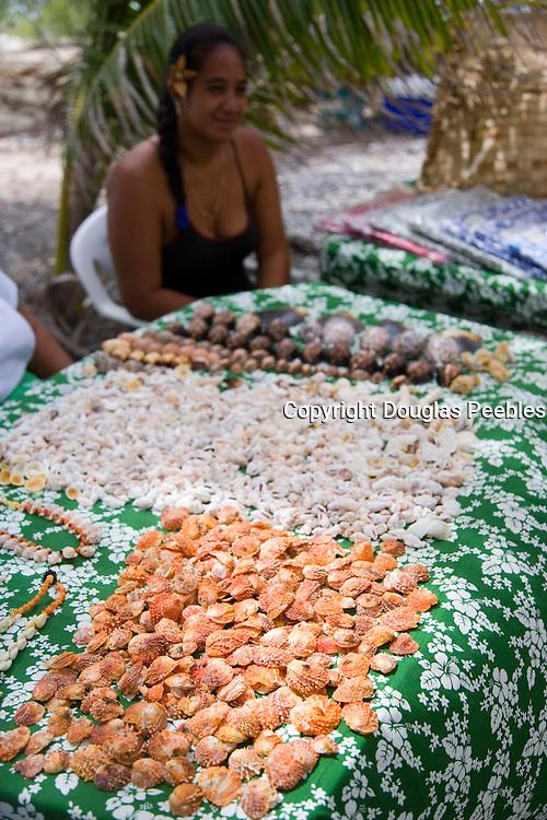 Shells, Fakarava, Tuamotu Islands, French Polynesia<br />