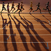 Athletics. The final of the Men's 10,000m.