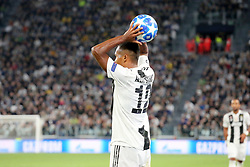 October 2, 2018 - Turin, Piedmont, Italy - Alex Sandro (Juventus FC) during the Juventus FC UEFA Champions League match between Juventus FC and Berner Sport Club Young Boys at Allianz Stadium on October 02, 2018 in Turin, Italy..Juventus won 3-0 over Young Boys. (Credit Image: © Massimiliano Ferraro/NurPhoto/ZUMA Press)
