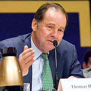 "Thomas Kean. Panel: FAA Response on 9/11. The 9/11 Commission's 12th public hearing on ""The 9/11 Plot"" and ""National Crisis Management"" was held June 16-17, 2004, in Washington, DC."