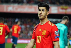 March 23, 2019 - Valencia, Valencia, Spain - Asensio of Spain in action during European Qualifiers championship, , football match between Spain and Norway, March 23th, in Mestalla Stadium in Valencia, Spain. (Credit Image: © AFP7 via ZUMA Wire)