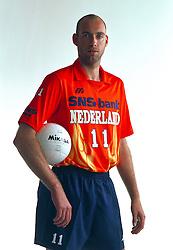 21-05-1997 VOLLEYBAL: TEAMPRESENTATIE MANNEN: WOERDEN<br /> Olof van de Meulen<br /> ©2007-WWW.FOTOHOOGENDOORN.NL