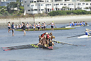 San Diego, California. USA. General Views, Crews boating from the beach. 2013 Crew Classic Regatta, Mission Bay.  10:52:38.  Saturday  06/04/2013   [Mandatory Credit. Peter Spurrier/Intersport Images]  ..