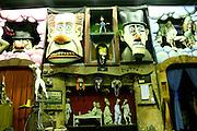 Belo Horizonte_MG, Brasil...Museu do grupo de bonecos Giramundo, localizado no bairro Floresta. Na foto detalhe de bonecos...Giramundo museum, it is located in Floresta neighborhood. In this photo detail of dolls...FOTO: LEO DRUMOND / NITRO
