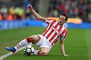 Ramadan of Stoke city in action. Premier league match, Stoke City v Chelsea at the Bet365 Stadium in Stoke on Trent, Staffs on Saturday 18th March 2017.<br /> pic by Andrew Orchard, Andrew Orchard sports photography.