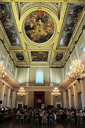 Dinner in the Banqueting House at the 13th annual Russian Summer Ball held at the Banqueting House, Whitehall, London on 14th June 2008.<br /><br />NON EXCLUSIVE - WORLD RIGHTS