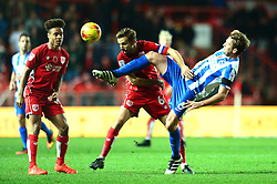 Gary O'Neil of Bristol City challenges for the ball with Dale Stephens of Brighton & Hove Albion - Mandatory by-line: Dougie Allward/JMP - 05/11/2016 - FOOTBALL - Ashton Gate - Bristol, England - Bristol City v Brighton and Hove Albion - Sky Bet Championship