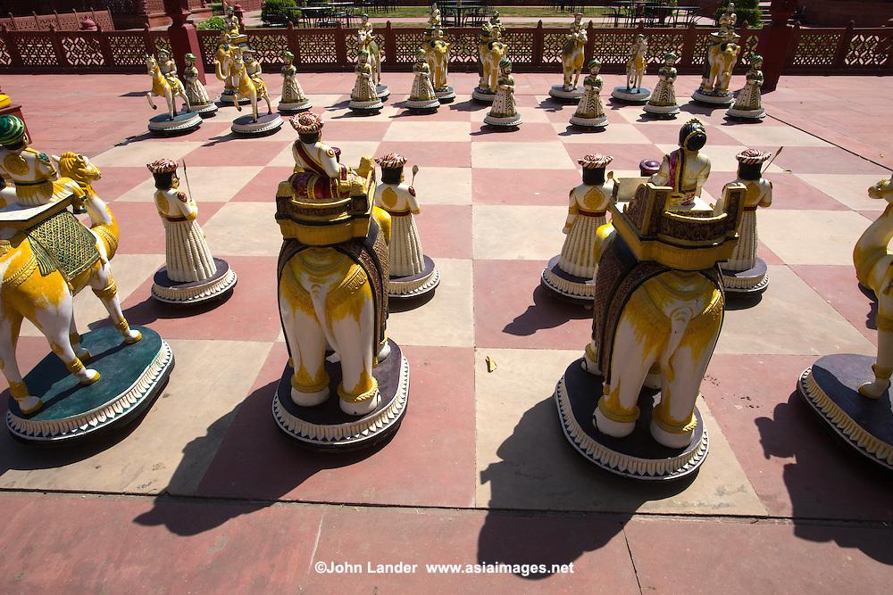 Giant Outdoor Chessboard