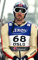 Kombinert<br /> VM 2011 Holmenkollen Norge<br /> 23.02.2011<br /> Foto: Gepa/Digitalsport<br /> NORWAY ONLY<br /> <br /> FIS Nordische Ski Weltmeisterschaften 2011, Holmenkollen, Training. <br /> <br /> Bild zeigt Magnus Moan (NOR) am Lift