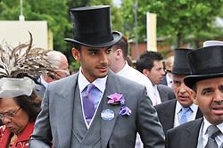 H.H.SHEIKH SUHAIM BIN ABDULLAH AL THANI at day 2 of the 2011 Royal Ascot Racing festival at Ascot Racecourse, Ascot, Berkshire on 15th June 2011.