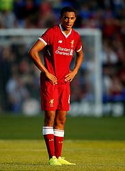 Trent Alexander-Arnold of Liverpool - Mandatory by-line: Matt McNulty/JMP - 12/07/2017 - FOOTBALL - Prenton Park - Birkenhead, England - Tranmere Rovers v Liverpool - Pre-season friendly
