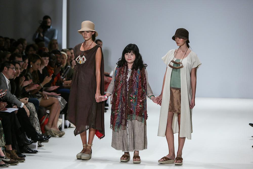 Fashion Shenzhen show during London Fashion Week, Spring/Summer 2013