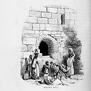 Hiram's Well from the book The land of Israel : a journal of travels in Palestine, undertaken with special reference to its physical character by Tristram, H. B. (Henry Baker), 1822-1906 Published in 1865