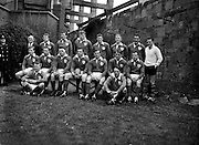 Irish Rugby Football Union, Ireland v Scotland, Five Nations, Landsdowne Road, Dublin, Ireland, Saturday 24th February, 1962,.24.2.1962, 2.24.1962,..Referee- N M Parkes, Rugby Football Union, ..Score- Ireland 6 - 20 Scotland, ..Irish Team, ..F G Gilpin, Wearing number 15 Irish jersey, Full Back, Queens University Rugby Football Club, Belfast, Northern Ireland,..W R Hunter, Wearing number 14 Irish jersey, Right Wing, C I Y M S Rugby Football Club, Belfast, Northern Ireland, ..M K Flynn, Wearing number 13 Irish jersey, Right Centre, Wanderers Rugby Football Club, Dublin, Ireland, ..D Hewitt, Wearing number 12 Irish jersey, Left centre, Instonians Rugby Football Club, Belfast, Northern Ireland,..N H Brophy, Wearing number 11 Irish jersey, Left wing, Blackrock College Rugby Football Club, Dublin, Ireland, ..G G Hardy, Wearing  Number 10 Irish jersey, Stand Off, Bective Rangers Rugby Football Club, Dublin, Ireland,  ..J T M Quirke, Wearing number 9 Irish jersey, Scrum Centre, Blackrock College Rugby Football Club, Dublin, Ireland, ..S Millar, Wearing number 1 Irish jersey, Forward, Ballymena Rugby Football Club, Antrim, Northern Ireland,..A R Dawson, Wearing number 2 Irish jersey, Forward, Wanderers Rugby Football Club, Dublin, Ireland, ..R J McLoughlin, Wearing number 3 Irish jersey, Forward, University College Dublin Rugby Football Club, Dublin, Ireland, ..W A Mulcahy, Wearing number 4 Irish jersey, Captain of the Irish team, Forward, Bohemians Rugby Football Club, Limerick, Ireland,..W J McBride, Wearing number 5 Irish jersey, Forward, Ballymena Rugby Football Club, Antrim, Northern Ireland,..D Scott, Wearing number 6 Irish jersey, Forward, Malone Rugby Football Club, Belfast, Northern Ireland, ..M L Hipwell, Wearing number 8 Irish jersey, Forward, Terenure Rugby Football Club, Dublin, Ireland, ..M G Culliton, Wearing number 7 Irish jersey, Forward, Wanderers Rugby Football Club, Dublin, Ireland,