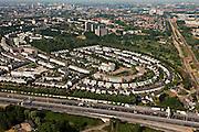 Nederland, Utrecht, Utrecht, 08-07-2010; noordoost Utrecht Blauwkapel en Tuindorp.luchtfoto (toeslag), aerial photo (additional fee required).foto/photo Siebe Swart