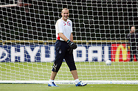 Photo: Chris Ratcliffe.<br />England training session. 06/06/2006.<br />Paul Robinson is all smiles as England's warm up begins in the mountains of the Black Forest in Buhlertal.