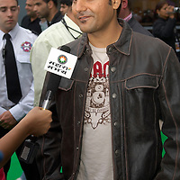 Cineworld Castleford  7 June 2007  IIFA  (International Indian Film Academy)  Bollywood actor A. Khan at Red Carpet  world premiere of the movie The Train