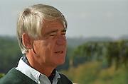 The owner Patrick Bayle. Chateau Plaisance, Premieres Cotes de Bordeaux, France