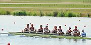 Eton Dorney, Windsor, Great Britain,..2012 London Olympic Regatta, Dorney Lake. Eton Rowing Centre, Berkshire[ Rowing]...Description; . GBR W8+.  Start Area, Crews Training. 12:03:52   Wednesday  25/07/2012..[Mandatory Credit: Peter Spurrier/Intersport Images].