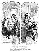 """Men of Few Words. Grand Duke Nicholas. """"Ca marche?"""" General Joffre. """"Assez bien. Et chez vous?"""" Grand Duke. """"Pas mal."""""""