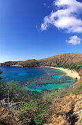 Hanauma Bay, Oahu, Hawaii, USA<br />
