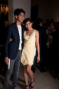 DEV PATEL; FREIDA PINTO, Afterparty for Burberry  Spring/Summer 2010 Show. Horseferry House. Horseferry Rd. London sW1.  London Fashion Week.  22 September 2009.