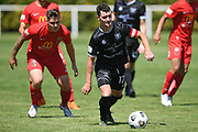 Hawke's Bay United's Fergus Neil in action in the Handa Premiership football match, Hawke's Bay United v Canterbury United, Bluewater Stadium, Napier, Sunday, December 06, 2020. Copyright photo: Kerry Marshall / www.photosport.nz