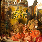 Pilgrims come to pray inside the main cave shrine, directing their attention to 2 stones smeared with vermilion that resemble the sun and the moon. It is believed that the Hindu god Lord Ram created this mark with the strike of his arrow.
