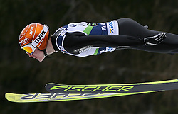 Ville Larinto (FIN) at Qualification's 1st day of 32nd World Cup Competition of FIS World Cup Ski Jumping Final in Planica, Slovenia, on March 19, 2009. (Photo by Vid Ponikvar / Sportida)