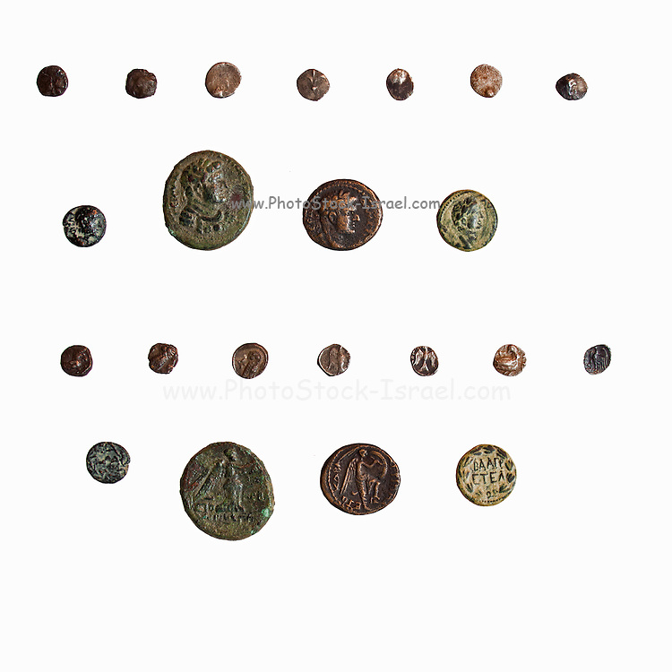 4th Century BCE coins from Philstia and Judea