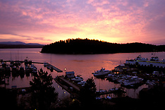 Lovely Dawn Friday Harbor San Juan Island WA