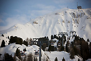 La Plagne ski resort in the French Tarentaise Valley