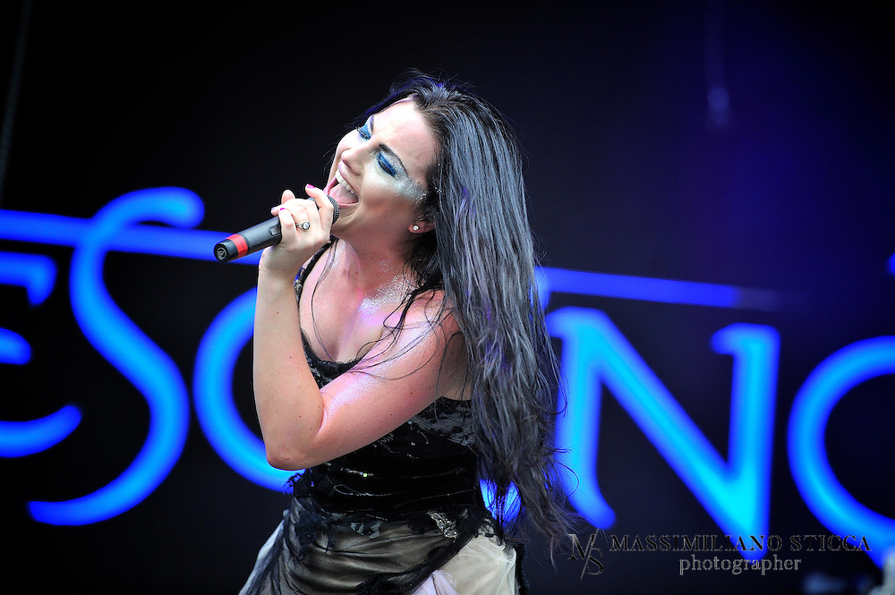 """Evanescence is an American rock band founded in Little Rock, Arkansas in 1995 by singer/pianist Amy Lee and guitarist Ben Moody. After recording private albums, the band released their first full-length album, Fallen, on Wind-up Records in 2003. Fallen sold more than 17 million copies worldwide[3] and helped the band win two Grammy Awards and seven nominations, as well as scoring No. 6 in CBS's """"Top Bestselling Albums of the Last 10 Years"""" (2008). A year later, Evanescence released their first live album, Anywhere but Home, which sold more than one million copies worldwide. In 2006, the band released their second studio album, The Open Door, which sold more than five million copies."""