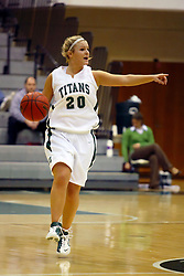 10 January 2009: Holly Harvey. The Illinois Wesleyan Titans, ranked #1 in the latest USA Today/ESPN poll, take down the Lady Reds of Carthage and remain undefeated,  2-0 in the CCIW and over all to 12-0. This is the first time in the history of the Lady Titans Basketball they have been ranked #1 The Titans and Lady Reds played in the Shirk Center on the Illinois Wesleyan Campus in Bloomington Illinois.