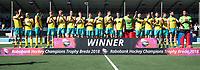 BREDA - Goud voor Australie. .  Australia-India (1-1), finale Rabobank Champions Trophy 2018. Australia wint shoot outs.  COPYRIGHT  KOEN SUYK
