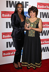 Aja Naomi King und Mabel C bei den Courage in Journalism Awards in Beverly Hills / 201016<br /> <br /> *** 27th Annual International Women's Media Foundation Courage in Journalism Awards held at the Beverly Wilshire Hotel in Beverly Hills, USA, October 20, 2016 ***