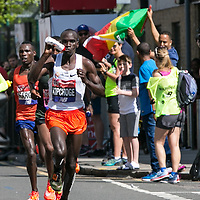 London Marathon 2018;<br /> Shot from Crossharbour, 25km point;<br /> Docklands, London.<br /> 22nd April 2018.<br /> <br /> © Pete Jones<br /> pete@pjproductions.co.uk London Marathon 2018