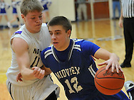 Midview vs North Royalton in a boys high school tournament varsity basketball game on March 7, 2012.