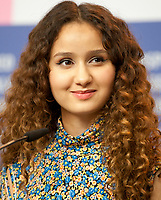 Actress Oulaya Amamra at the press conference for the film The Salt of Tears (Le Sel des Larmes) at the 70th Berlinale International Film Festival, on Saturday 22nd February 2020, Hotel Grand Hyatt, Berlin, Germany. Photo credit: Doreen Kennedy