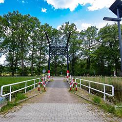 22-05-2020: Nieuws: Stockfotos: Nederland<br />Almelo-Nordhorn Kanaal brug in de buurt van Harsenveld (Denekamp) gebouwd ca 1875