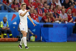 June 27, 2019 - Le Havre, France - Ellen White (Birmingham City WFC) of England celebrates after scoring her sides first goal during the 2019 FIFA Women's World Cup France Quarter Final match between Norway and England at  on June 27, 2019 in Le Havre, France. (Credit Image: © Jose Breton/NurPhoto via ZUMA Press)