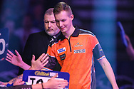 Geert Nentjes during the walk-on during the World Darts Championships 2018 at Alexandra Palace, London, United Kingdom on 19 December 2018.
