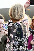 Koningsdagconcert in Theaters Tilburg / King's concert in Theaters Tilburg<br /> <br /> op de foto / On the photo: <br /> <br />  Koningin Maxima / Queen Maxima
