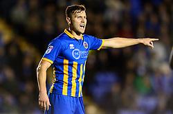 Matthew Sadler of Shrewsbury Town - Mandatory by-line: Dougie Allward/JMP - 17/10/2017 - FOOTBALL - Greenhous Meadow - Shrewsbury, England - Shrewsbury Town v Bristol Rovers - Sky Bet League One