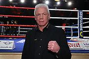 "Boxen: Blitz & Donner, Hamburg, 24.03.2018<br /> Sport1-Kommentator Graciano ""Rocky"" Rocchigiani<br /> © Torsten Helmke"