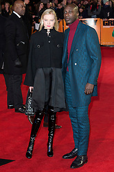 © Licensed to London News Pictures. 22/02/2016. OZWALD BOATENG attends the GRIMSBY Film premiere. The film centres around a black-ops spy whose brother is a football hooligan.  London, UK. Photo credit: Ray Tang/LNP